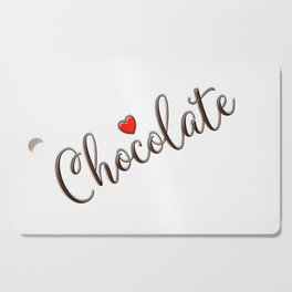 Chocolate Love Cutting Board