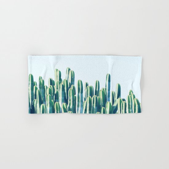 Cactus V2 #society6 #decor #fashion #tech #designerwear Hand & Bath Towel