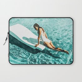 Pool Day #society6 #painting #summer Laptop Sleeve