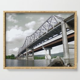 Tennessee River Bridge Serving Tray