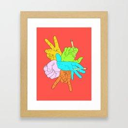 Handymano Framed Art Print