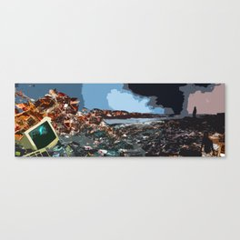 The Wastelands Canvas Print