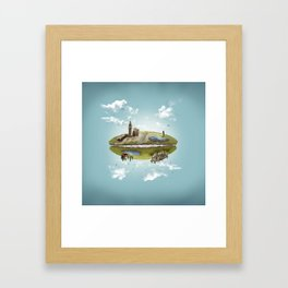 """Merlin- """"Two Sides of the Same Coin"""" Framed Art Print"""