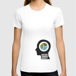 sustain yourself society T-shirt
