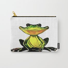 Jon Jade - The Cambodian Tree Frog Carry-All Pouch