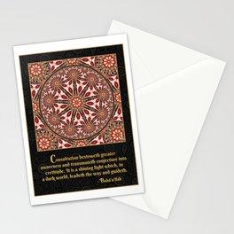 Consultation - Bahá'i quotation Stationery Cards