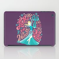 risa rodil iPad Cases featuring Snow Queen by Risa Rodil