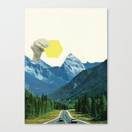 Moving Mountains Canvas Print