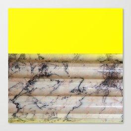 Greek Yellow Marble Canvas Print