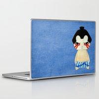 honda Laptop & iPad Skins featuring A Boy - E. Honda by Christophe Chiozzi