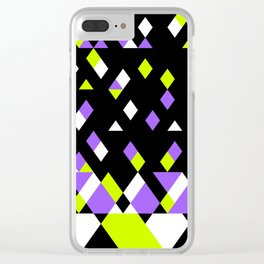 Electric Feel Clear iPhone Case