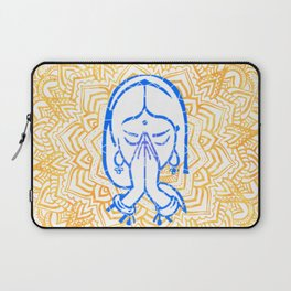 Namaste | Wisdom Flower Mandala Laptop Sleeve