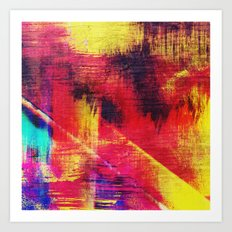 Color Ruins Art Print