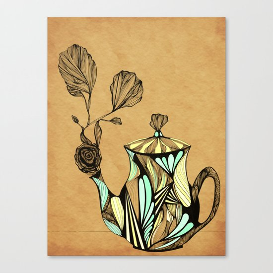 Flower Pot Canvas Print