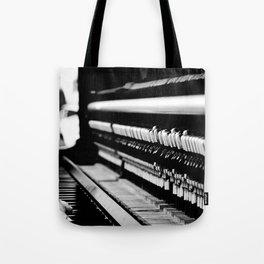 Piano Guts Tote Bag