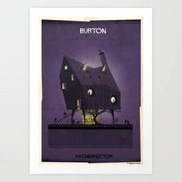 08_ARCHIDIRECTOR_tim burton Art Print