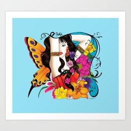 Garden Dance Art Print