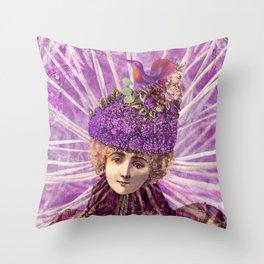 Forest Fairy Princess Throw Pillow
