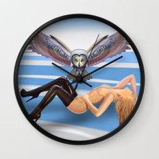 winter paradise  Wall Clock