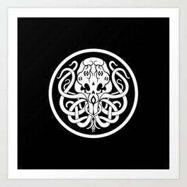 Cthulhu Symbol Art Print