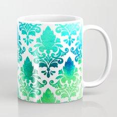 Damask in Bright Seaweed Mug