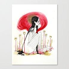Murderer Canvas Print