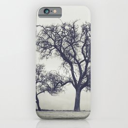 bleak trees... iPhone Case