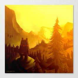 Wide World Canvas Print