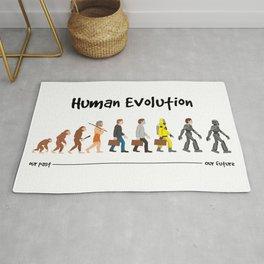 Evolution - a robotic future Rug