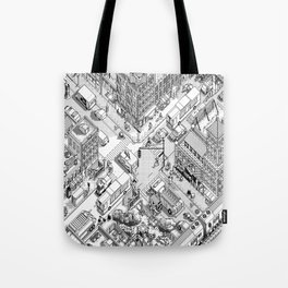 MacPaint project: NYC Tote Bag