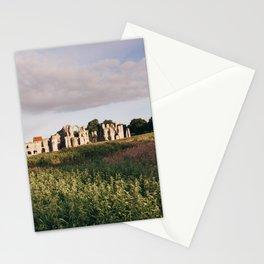 Old Priory ruins at sunrise. Norfolk, UK. Stationery Cards