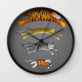 Wi-Fi Cats Wall Clock