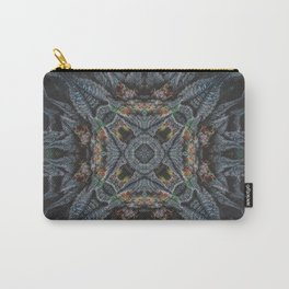 Purple Black Lime Design Carry-All Pouch