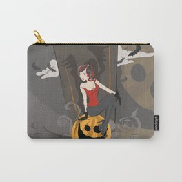 Pin Up Halloween Carry-All Pouch