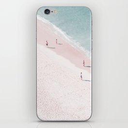 beach family love iPhone Skin