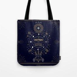 Ad Astra Per Aspera Tote Bag