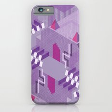 Den of the Headless Lion in Purple and Lavender iPhone 6s Slim Case
