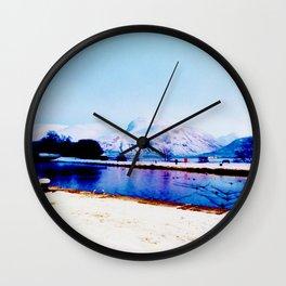 Corpach Sea loch, Highlands of Scotland Wall Clock
