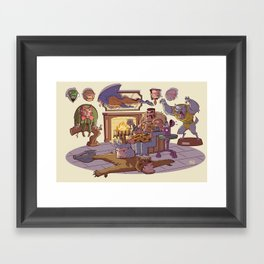 Trophy Room Framed Art Print