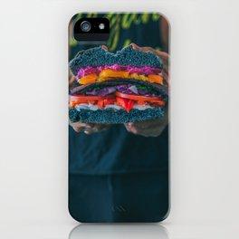 Black LT Sandwich iPhone Case