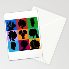 FOR COLORED GIRLS COLLECTION COLLAGE Stationery Cards