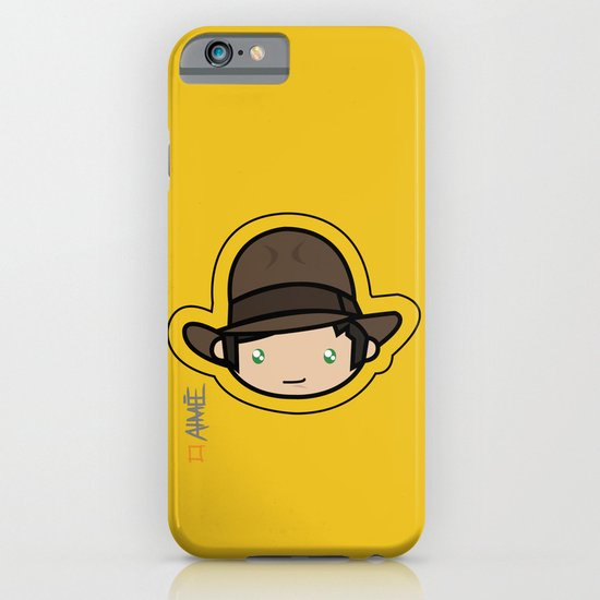 Indiana Jones Kawaii iPhone & iPod Case