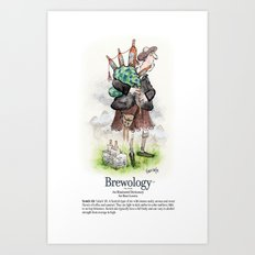 Scotch Ale Art Print