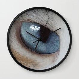 Stormy Gaze Wall Clock
