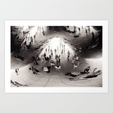 Distortion Art Print