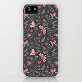 Insects Frolicking in the Night iPhone Case