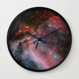 Carina Nebula Space Art Wall Clock