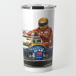 Senna and Nigel Travel Mug