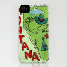 MONTANA iPhone (4, 4s) Slim Case