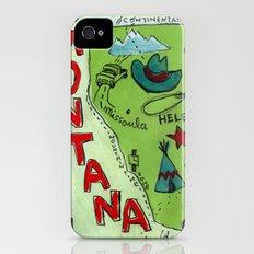 MONTANA iPhone (4, 4s) Slim Case